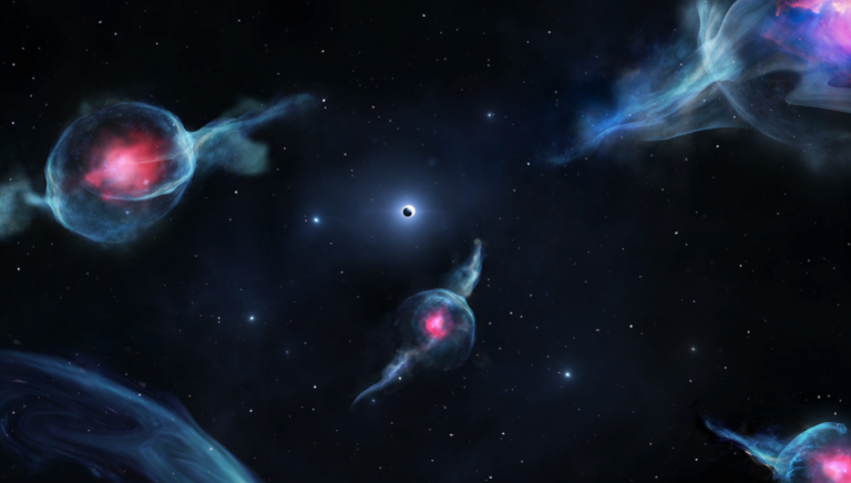 Read more about the article Astronomers Discover Class of Strange Objects Near Our Galaxy's Enormous Black Hole