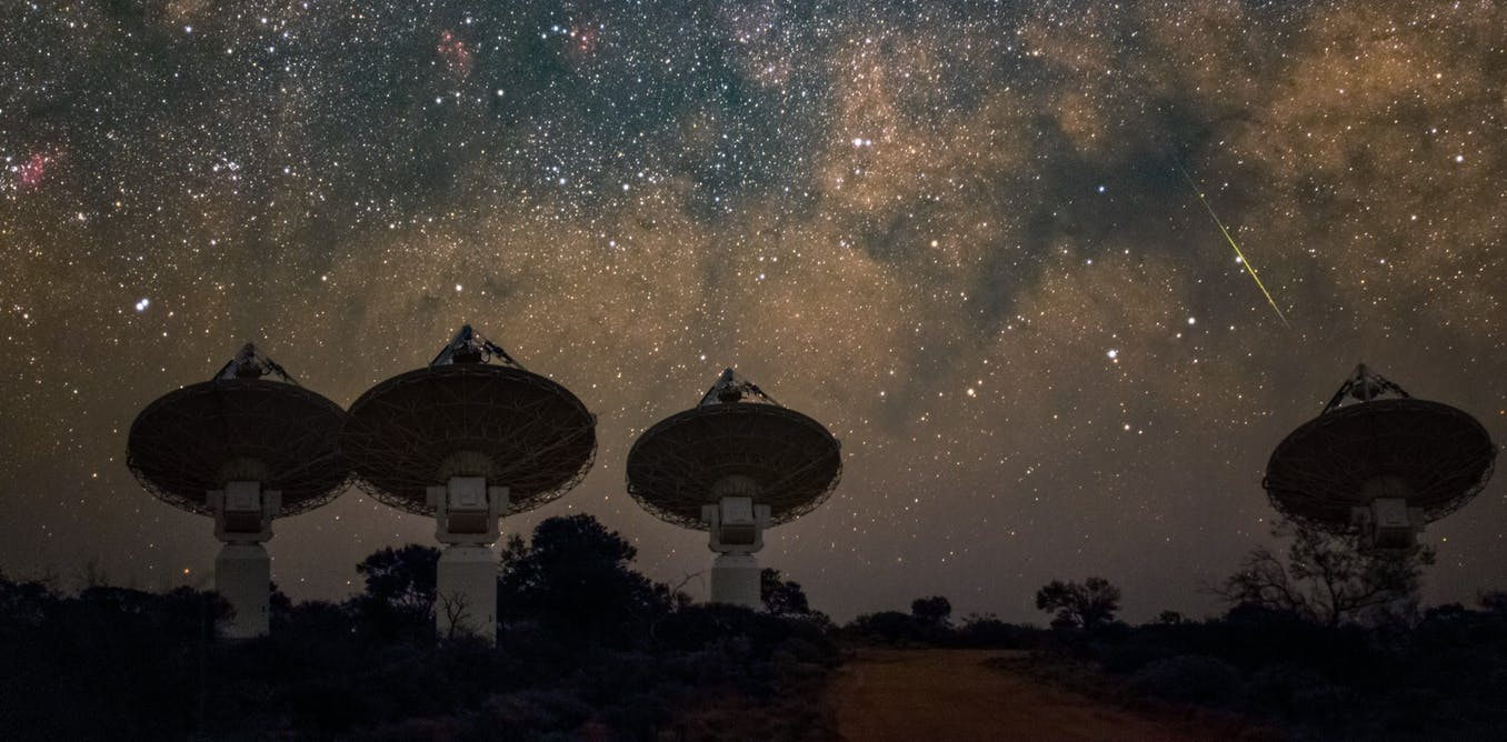 Read more about the article Half the matter in the universe was missing – we found it hiding in the cosmos