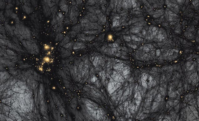 """Read more about the article """"A Darker, Deeper Cosmos"""" –Looking Beyond the Standard Model"""