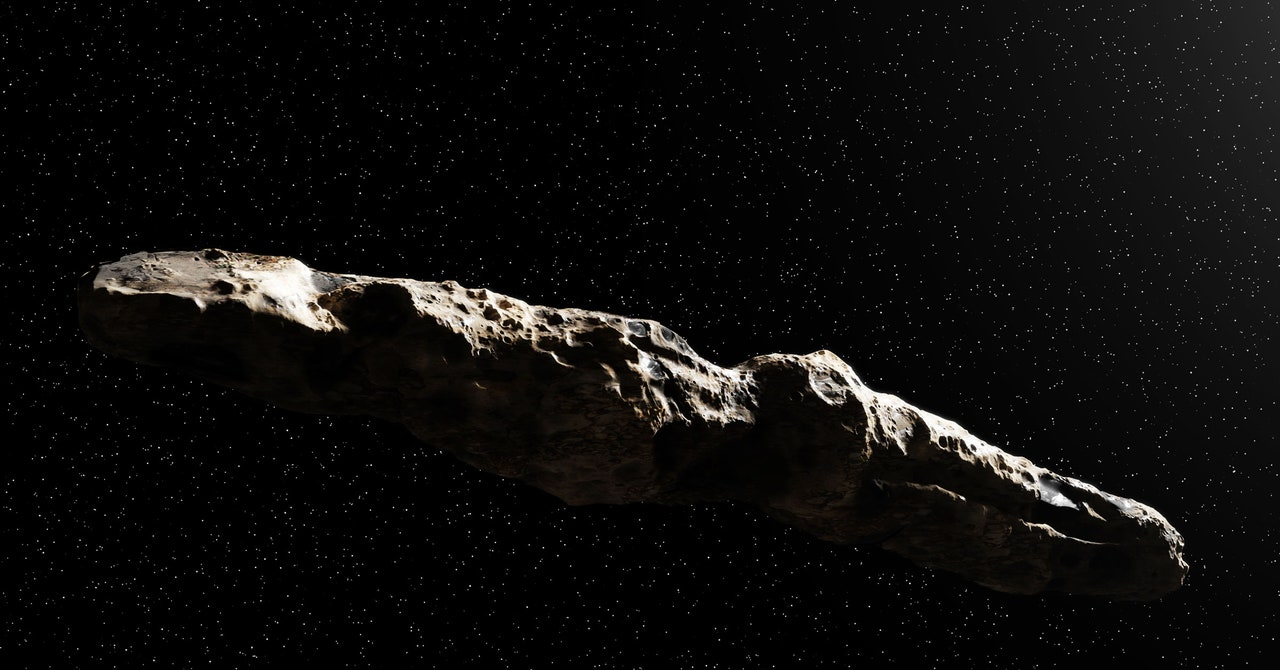 Read more about the article Oumuamua Might Be a Giant Interstellar Hydrogen Iceberg