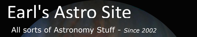 Earl's Astro Site