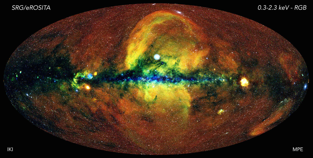 Read more about the article eROSITA X-Ray Telescope Captures Hot, Energetic Universe