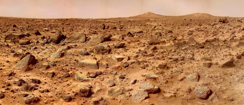 Read more about the article Mars' Twin Peaks – Super-Resolution Image From Mars Pathfinder