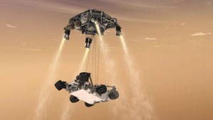 Read more about the article Curiosity's skycrane maneuver