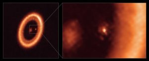 Read more about the article Astronomers make first clear detection of a moon-forming disc around an exoplanet